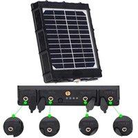 Tkkok 3W 8000mAh الصيد الكاميرا الشمسية لوحة 6 فولت / 9 فولت / 12 فولت انتاج الطاقة شاحن بطارية الكاميرا