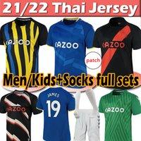 20/21 Everton maglia da calcio Soccer Jerseys #19 James 2020 2021  Men Kids Kit Set Camicia da calcio #7 Richarlison Kean Davies Uniformi 1987 88 94 95 Retro soccer jersey