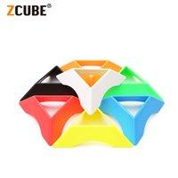 Zcube Magic Cube подставка Держатель 8 шт. / Установлен красочный базовый держатель для наклейки для 2x2x2 3x3x3 4x4x4 5x5x5 Professional Cubo Magico L0226