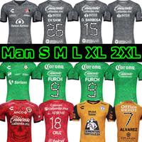 2020 2021 Atlas Pachuca Tuzosfb الرجال كرة القدم جيرسي Xolos دي سانتوس تيخوانا طبعة خاصة ضياء دي لوس مويرتوز هالوين ثالث كرة القدم القمصان