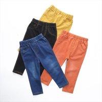 Boysjeans printemps automne filles enfants jeans vêtements occasionnel bébé fille denim bébé pantalon garçon enfants pantalons pour garçons1 9Y
