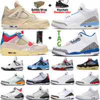 Jumpman Sail Black Cat Bred 4 4s Guava Eis Twist Weißer Zement Was der Männer Basketballschuhe UNC FIRE Red Chicago Varsity Royal Damen Sneaker