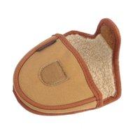 Tourbon vintage lona de lã martelo de golfe putter cabeça capa de golfe headcover bolsa khaki protetor l0302
