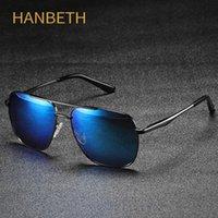 Pilot Klasik Polarize Güneş Gözlüğü Erkekler Kadınlar Yüksek Kalite Metal Çerçeve Marka Vintage Tasarımcısı Sürüş Balıkçılık Shades UV400 için