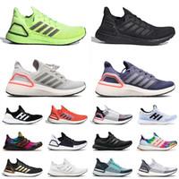 2021 جديد وصول Ultra Ultraboost 20 حجم 36-47 احذية الجري فولت الثلاثي الأسود بكين مختبر وطني للطاقة الشمسية الأحمر رجل إمرأة المدربين أحذية رياضية