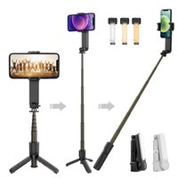 3 Axis Gimbal Handheld Stabilizer Monopods Video Record Smart Tripods Wireless Remote Control For Sport Action Camera CellPhone