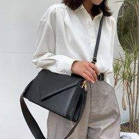 SWDF Neue PU Leder Crossbody Taschen für Frauen 2021 Luxus Handtaschen Damen Designer Einfache Massivfarbe Reisen Schulter Handtaschen