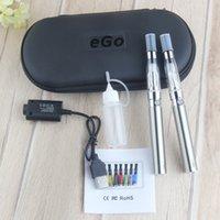 더블 EGO-T CE4 스타터 키트 전자 담배 증기 1100mAh 900 배터리 1.6ml clearomizer ecig 세트 지퍼 케이스 vape 펜