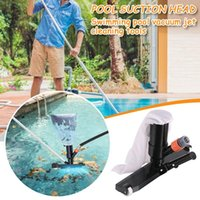 Pool & Accessories Swimming Cleaning Tool Set Pond Fountain Skimmer Bottom Vacuum Brush Cleaner With Handle Spring #K