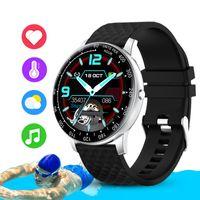 H30 Smart Watch Men Fitness Tracker Full Touch Круглый экран DIY Часы лица IP68 Водонепроницаемый SmartWatch для женщин