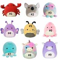 25cm Squishmallow Kawaii Big Squish Animal Squish Licorne Dinosaure Cat Octopus Soft Pouce Pouce Pouce Pouce d'oreiller Coussin Kids Toys 851