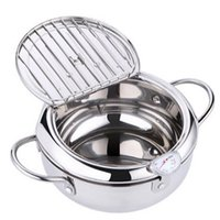 Mamas Handküche Frittiert Thermometer Tempura Fritteuse Pan Temperaturregler Gebratener Hühnertopf Kochwerkzeuge