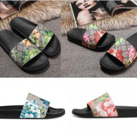 Mode Durable Männer Frauen Slipper Sandalen Damen Flops Schwarz Weiß Rot Grüne Schuhe