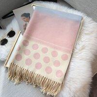 Foulard de concepteur Foulards foulards de femmes haut de gamme Collier chaud Colbardief châle de haute qualité Imprimé Cachemire Silk Spolfs Taille 180 * 65cm