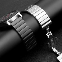 Watch Bands Huawei GT Strap For Samsung Galaxy 42mm 46mm Active 2 Gear S3 Frontier Band 20mm 22mm Stainless Steel Metal Bracelet