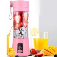 Blender 6 Blade Electric Fruit Juicer Handheld Smoothie Maker Stirring Mixer USB Rechargeable Mini Food Processor Juice Cup