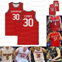 Personalizado Davidson Wildcats College Basketball Jerseys 14 Luke Frampton 30 Curry 31 Kellan Grady 3 Jon Axel Gudmundsson