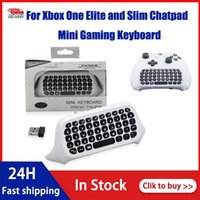 Игра Контроллеры Джойстики для Xbox One S ChatPad Mini Gaming Keyboard Wireless Chat Сообщение с Audio Jack / Наушники