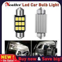 Luces de emergencia 2x C10W C5W LED COB Festoon 31mm 36mm 39mm 41 / 42mm 12V Bulbos blancos para coches Placa de licencia Light Light 6500k Supe