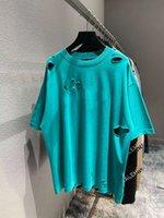 Sommer New Come Runway Designer T-Shirts Hohe Qualität Gat Männer Frauen T-Shirt Mode Übergroße kurze Mouwen Top Tees