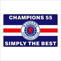 KOSTENLOSER DHL-Versand Kundenspezifische Flagge 3X5FT / 90x150cm Ranger Fußballverein FC Loyal Champions 55 Flaggen Banner für den Außensport FWD5394