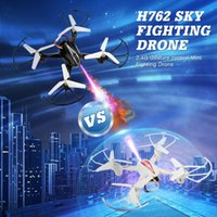 طائرات بدون طيار HX762 RC هليكوبتر مسابقة مفتاح واحد عودة 360 درجة quadrocopter الصمام الخفيفة الإلكترونية pk السيارات تحوم اللعب ل بو