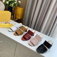 Designer Doppelband Sandalen Frauen High Heels 65 mm Säulenabsatz Schriftzug Lederfolien Sommer Sexy Strand Hausschuhe mit Box 272