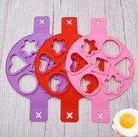 Egg-caldeira frito mofa de silicone ovo fogão amor café café da manhã engrossado ovos engrossaram fritar máquina de mofo hwb5252