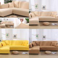 2 قطع غطاء أريكة لغرفة المعيشة الأريكة غطاء مرونة L على شكل أرائك الزاوية يغطي امتداد كرسي النوى قفازي الغلاف 284 s2