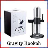 Großhandel Gravity Bag Bong Water Rohr Glas Schüssel Rauchen Kit Shisha Hukahn Rohre DAB RIG Rauch Dabber Tabakkraut