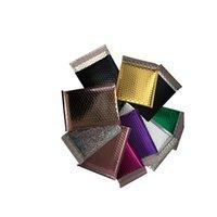 متعددة الحجم والألوان فقاعة تغليف أكياس المغلف الملونة البلاستيك فقاعات البريد التعبئة والتغليف الحقائب الألومنيوم احباط حقيبة البريد