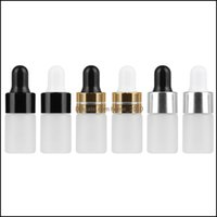 Bottles Packing Office School Business & Industrialmini Translucent Frosted Dropper Sample Vial Jar Cosmetic Essential Oil Bottle Container