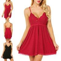 2021LACE Sexy Ropa interior Perspectiva de las mujeres Pijamas Nightdress Tamaño de gran tamaño Skirt Skirt Traje 6832