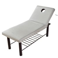 Copriletto Pure Color Massage Table Bed Bed Sheet Elastic Cover Full Copertura Rubber Band Trattamento spa con viso respiro foro NHD7971