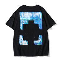 Moda di marca superiore in cotone maniche corte Monet Monet Pittura a olio T Shirt T-shirt Top T-shirt Casual Donne Tee Shirt X Stampa Estate Top