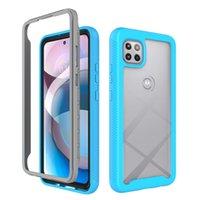 2 في 1 حالة مدفحية ل iPhone 12 Mini 12 Pro Max 11 XR 7 8 Plus Samsung S21 Plus S20 Note 20 Ultra