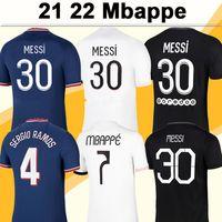 20 21 MBAPPE ICARDI Maillots de Football pour Hommes DI MARIA VERRATTI Domicile Extérieur 3ème Maillot de Football Nouveau KIMPEMBE DRAXLER Uniformes Maillots de Foot