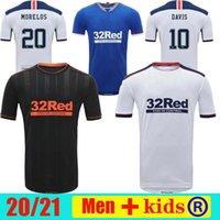 2020 2021 2021 غلاسكو رينجرز FC ثالث بعيدا كرة القدم الفانيلة 20 21 ديفو هاجي موريلوس حافظة رينجر أبيض لكرة القدم قمصان مايلوت دي القدم