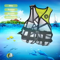 Life Vest & Buoy Adult Jacket Adjustable Buoyancy Aid Outdoor Swimming Boating Sailing Fishing Water Sports Safety Man