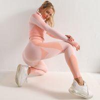 Shaping Sport Anzug Frau Nahtlose Lauf Trainingsanzug Sportswear Gymnastik Gymnastik Yoga Hose Fitness Kleidung Trainingsgamaschen Set