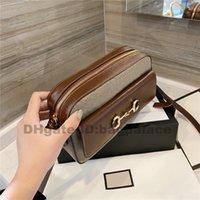2021 카메라 가방 Luxurys 디자이너 디자이너 1955 클래식 트렁크 숄더 백 상자 핸드백 소녀 인쇄 패션 여성 Totestop 품질 크로스 바디 클러치 지갑 지갑