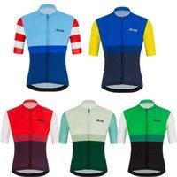 Racing Jackets Raudax Team Bike Tops Summer Short Sleeves Cycling T-shirt Outdoor MTB Road Maillot De Ciclismo Breathable Jerseys Men