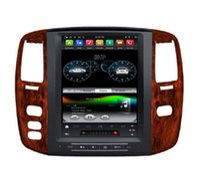 "Carplay Android Auto 4GB + 64GB TESLA شاشة عمودي PX6 12.1 ""Android 9.0 Car DVD راديو GPS بلوتوث 5.0 واي فاي لكزس LX470 2004 2005 2005"
