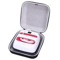 LTGEM EVA Waterproof Shockproof Carrying Hard Case For Cricut EasyPress 2 (9*9 inches) 210304