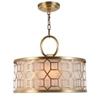 Europe Lustre modern led brass Chandelier Chandeliers Lamps fabric black gold shade Bedroom Suspendsion Lights Fixture Dining Hanging Light Luminaria