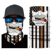 Palhaço Venom Atendedor De Morte V-Word Vendetta Equipe Face Toalha Ao Ar Livre Solcreen Magia Cabeça Cachecol Equitação Motocicleta Capa Mask Man