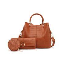 Композитная сумка HBP Check Bags Messenger Новый кошелек Комбинированная сумка Дизайнер Высокая мода Трех в одной Одно качество Сумочка Повседневная Urwta