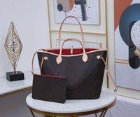 الأزياء 2 قطع حقائب اليد امرأة النساء المصممين أكياس حقائب حقائب جلدية الكتفين رسول crossbody الكتف حقيبة محفظة سيدة مخلب