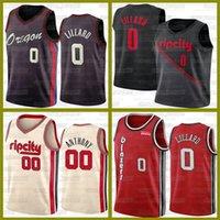 Damian 0 Lillard Basketball BlazersJerseys portland.TrilhaNovo Collin 2 Sexton 2021 Carmelo 00 Anthony Durant Jerseys 13 Harden