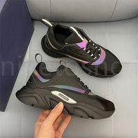 디자이너 B22 운동화 화이트 가죽 송아지 가죽 캐주얼 신발 탑 기술 니트 남성 여성 플랫폼 여러 가지 빛깔의 트레이너 크기 EUR38-44
